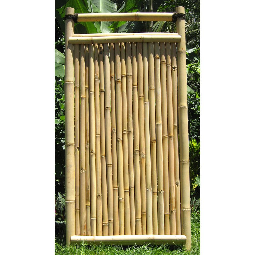 "bambuszaun ""mengwi"" - bambuszentrum pfalz ""shangrila"""